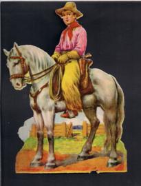 Jonge Ruiter te paard  poezieplaatje