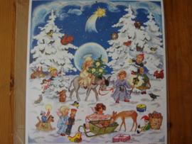 11706 XL Adventskalender: Kerst in het Winterbos