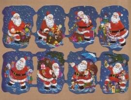 Kruger Kerst poezieplaatjes met glitter 5