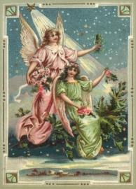 Engelen verlicht door de Ster Reliefkaart EF 3005