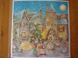 11475 XL Adventskalender: Dorp in Kerstsferen