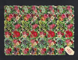 Kleine bloemen antieke poezieplaatjes Printed in Germany No. 519