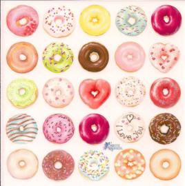 Donuts poezieplaatjes Stickers K88