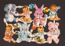 Kruger 98/106 Baby's en knuffels poezieplaatjes