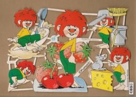 GL7081: Pumuckl met fruit en kaas poezieplaatjes
