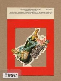 Poezieplaatje Engeltjes met Champagne EWC01320