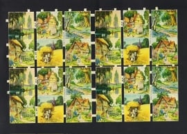 M.P. 871 Landschapjes klein poezieplaatjes