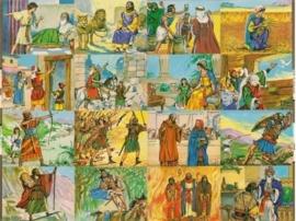 Bijbelse afbeeldingen poëzieplaatjes MLP 1689