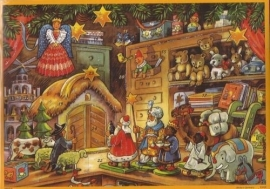 10093 Kerst in de speelgoedwinkel Adventskalender