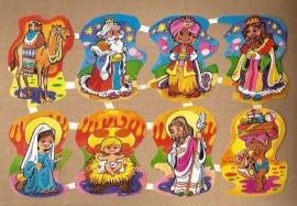 Maves Loroño groot Spaanse poezieplaatjes Kerst Bezoek