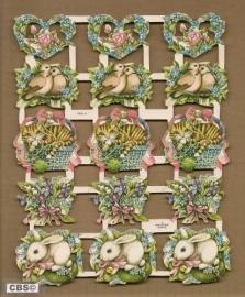 Marjolein Bastin oude poezieplaatjes (Libelle)