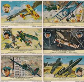 Liebig: Luister van de Belgische luchtmacht 1 t/m 6