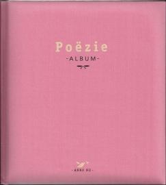 Poeziealbum oud roze met plaatjes - Elma van Vliet