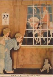 Heerlijk avondje van Sinterklaas prentbriefkaart [D1115]