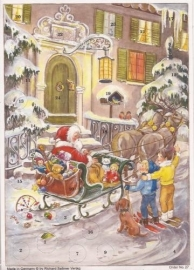 Kerstman in de straat Adventskalender - ZG4627