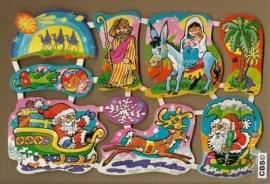 Maves Loroño groot Spaanse poezieplaatjes Kerst Maria