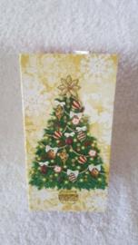 Prachtige kerstboom - doos met zeep en speeldoosje