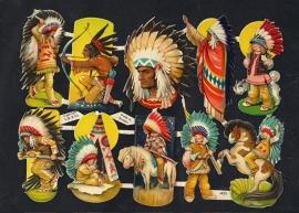E.O. & Co 4825 Indianen poezieplaatjes