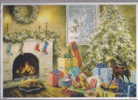 10386  Adventskalender Cadeautjes onder de kerstboom
