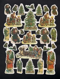 Kerst A Deense poezieplaatjes