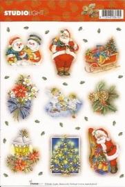 Christmas - Kerst stickers SL01