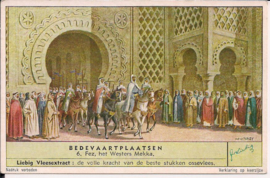 Liebig: Bedevaartplaatsen  - Fez, het westers Mekka