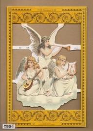 Engelen op de wolken poezieplaatjes A 40