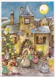 10065 Engeltjes in optocht Adventskalender