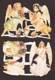 Vijf Engelen namaak zonder logo poezieplaatjes