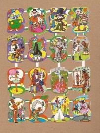 Maves Loroño klein Spaanse poezieplaatjes Circus