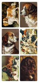 Honden poezieplaatjes Stickers Y189