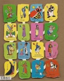 Edivas mini Walt Disney 59 Spaanse poezieplaatjes