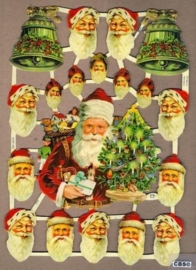 Kerstmankopjes & klokken poëzieplaatjes 7220