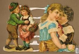Verliefde kindertjes poezieplaatjes GL7128
