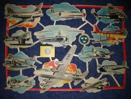 E.O. & Co 4812 Vliegtuigen poezieplaatjes