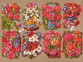 Kruger 98/19 Boeketjes bloemen poezieplaatjes
