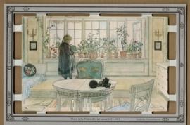 B5007 Flower in the Windowsill Carl Larsson poëzieplaatjes MLP