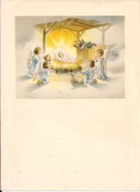 Wensbrief: Kindje Jezus in de stal 352
