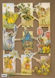 Bloemenkindertjes Cicely Mary Barker poezieplaatjes 1958