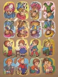 Kruger 171/278-279 Kindertjes poezieplaatjes