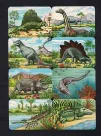 Kruger 99/17 Dinosaurussen poezieplaatjes