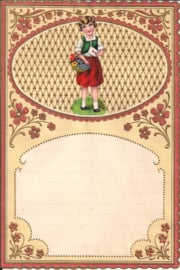 Wensbrief: Meisje met brief 371