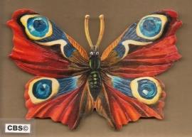 Dagpauwoog Vlinder poezieplaatjes 5099