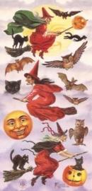 Heksen en Uilen poezieplaatjes Stickers P35