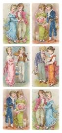 Kinderstelletjes poezieplaatjes Stickers Y176