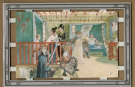 B5001 A Day of Celebration Carl Larsson poëzieplaatjes MLP