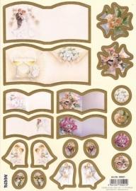 Bruiloft met een gouden randje - 30521-3