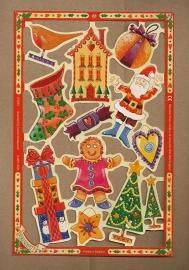 C5033: Kleurig Kerstfeest! poezieplaatjes