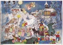 10106 Winterwonderlandschap Adventskalender