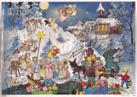 10106 Winterwonderlandschap Adventskalender